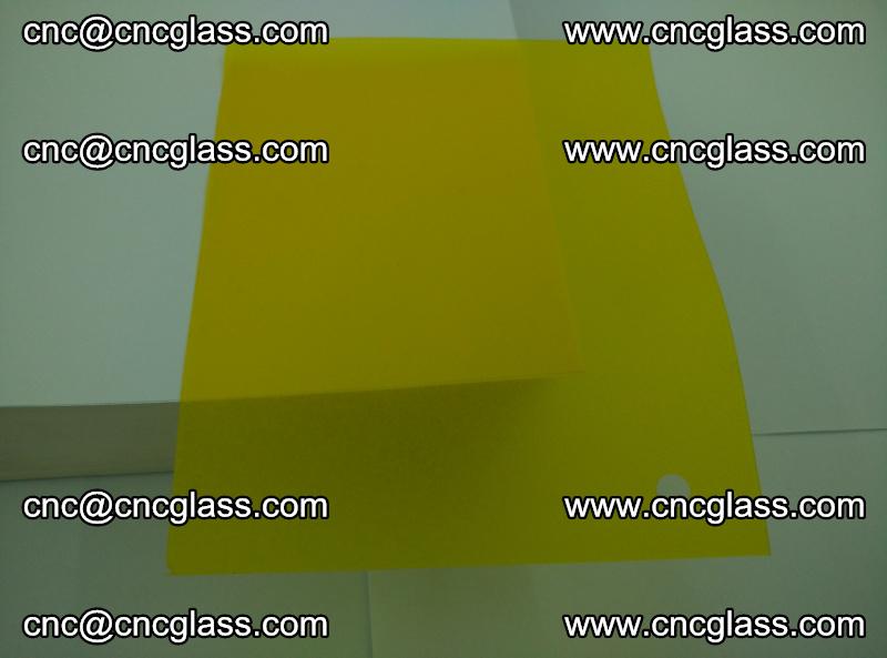 Eva glass laminating interlayer foil film Transparent clear color (lemon yellow membrane) (1)