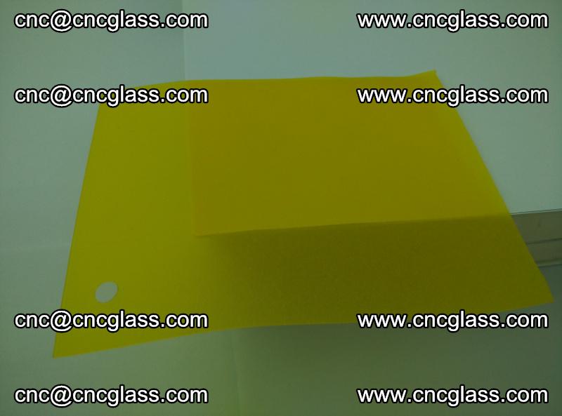 Eva glass laminating interlayer foil film Transparent clear color (lemon yellow membrane) (12)