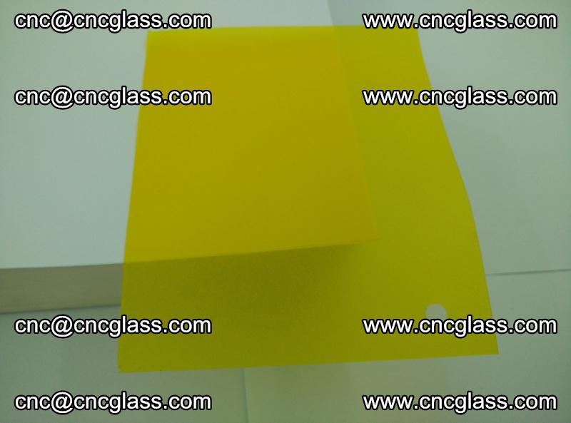 Eva glass laminating interlayer foil film Transparent clear color (yellow lemon) (12)