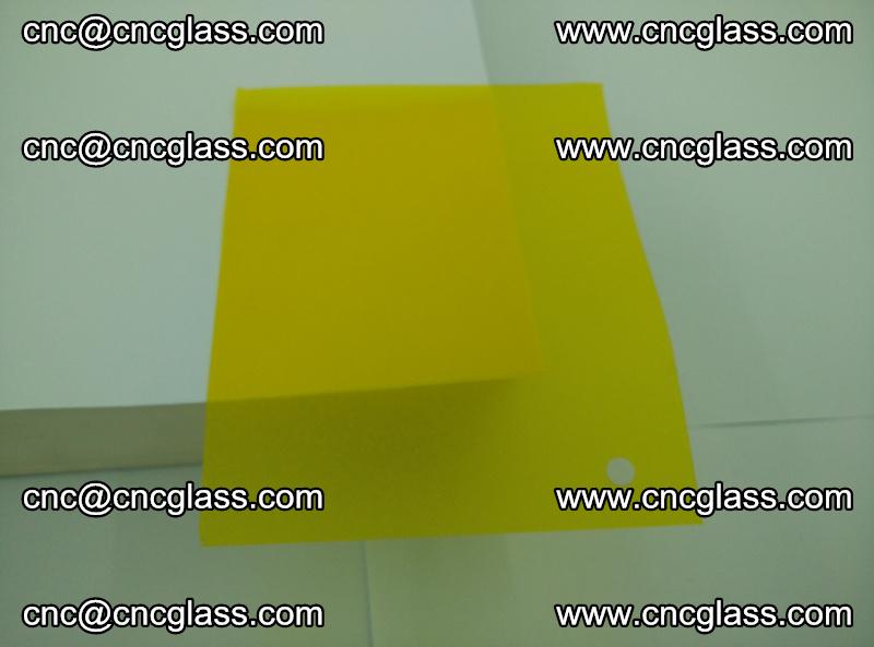 Eva glass laminating interlayer foil film Transparent clear color (yellow lemon) (14)