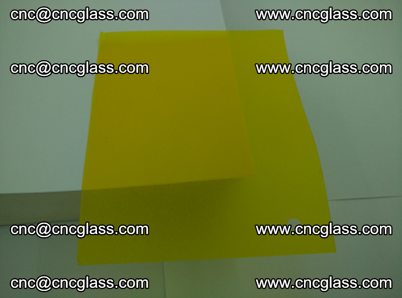 Eva glass laminating interlayer foil film Transparent clear color (yellow lemon) (18)
