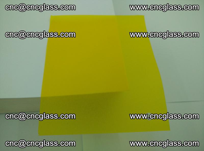Eva glass laminating interlayer foil film Transparent clear color (yellow lemon) (9)